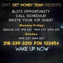 Wake Up Now GMT Bliz calls