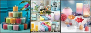 Collage for partylite fundraising party party